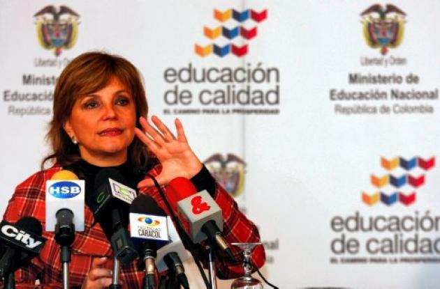 Ministra de Educación, María Fernanda  Campos