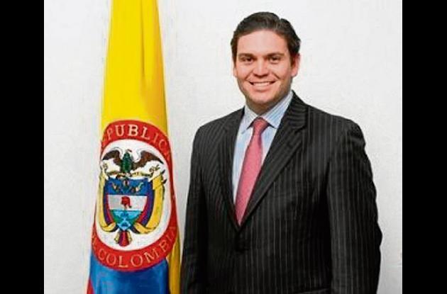 Juan Carlos Pinzón, ministro de Defensa.