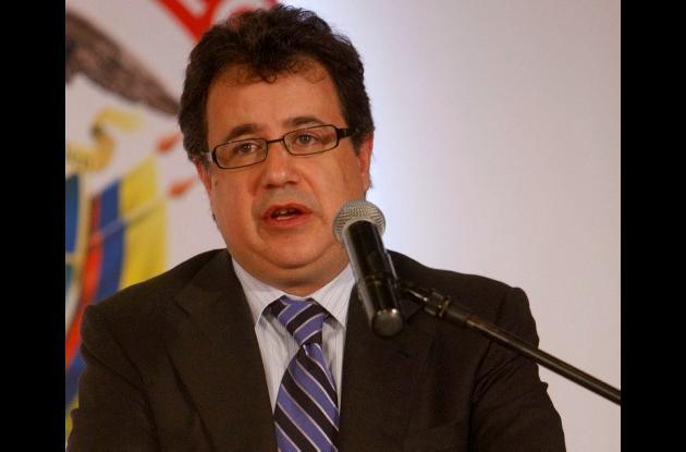Mauricio Santamaría, ministro de Protección Social.