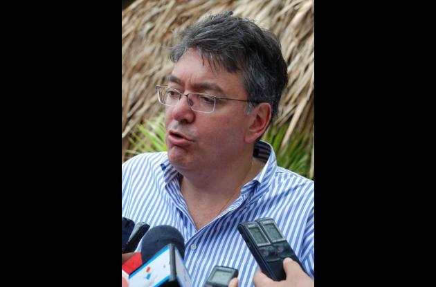 Mauricio Cárdenas Santamaría, ministro de Minas y Energía.