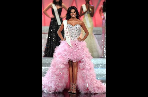 Ivian Sarcos, de Venezuela, se corona Miss Mundo 2011