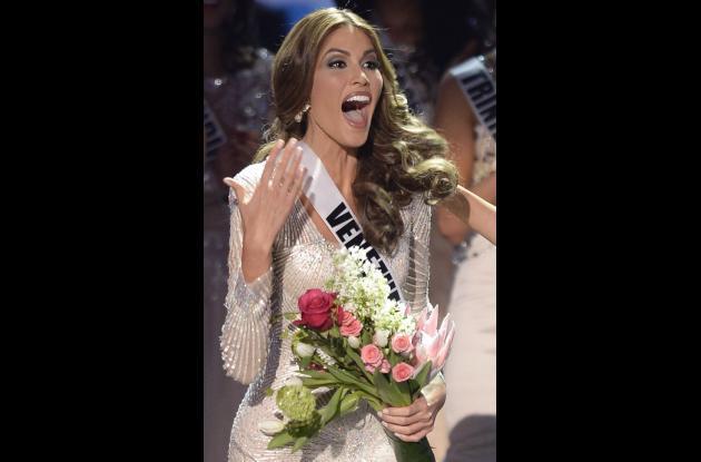Gabriela Isler, Miss Universo, se dio cuenta que había ganado la corona de la mujer más bella del mundo varios segundo después.