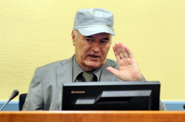 El exgeneral Ratko Mladic
