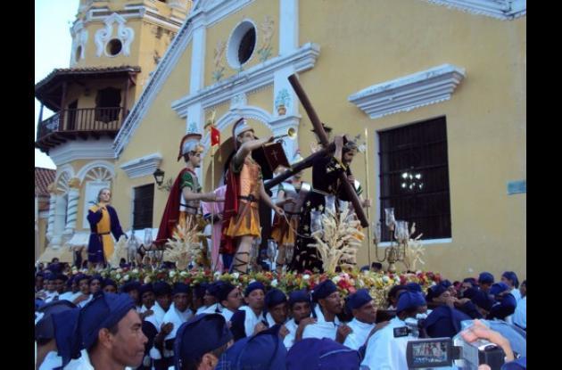 Semana Santa en Mompox.