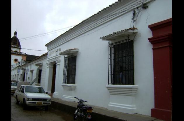La sede remodelada de Electricaribe en el municipio de Mompox.