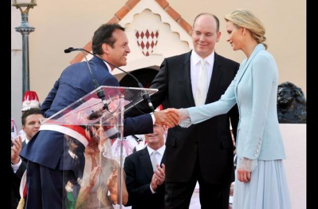 celebración de la boda civil Alberto de Mónaco Y Charlene Wittstock
