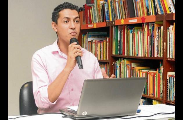 Edwin Carrillo Duarte, gerente de la Agencia de Banrepública en Sincelejo.