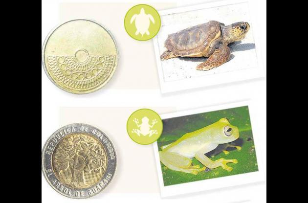 Las monedas tendrán características de animales.