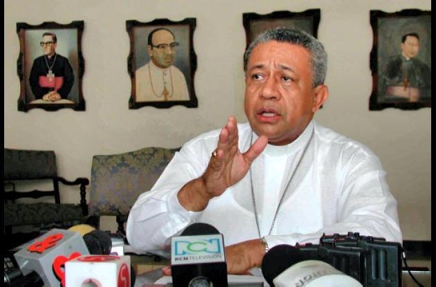 Monseñor Julio César Vidal, obispo de Montería.