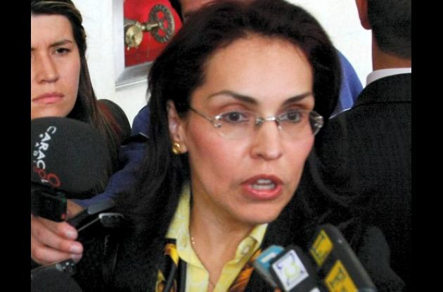 Fiscal seccional Ibeth Hernández Sampaýo.
