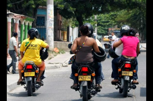 circulación de motocicletas