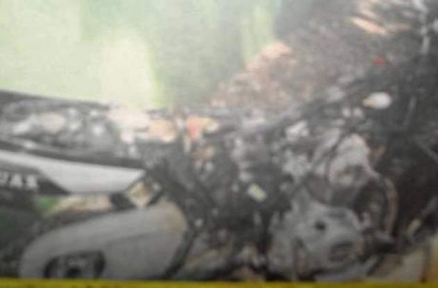 Moto recuperada en Cereté que había sido robada