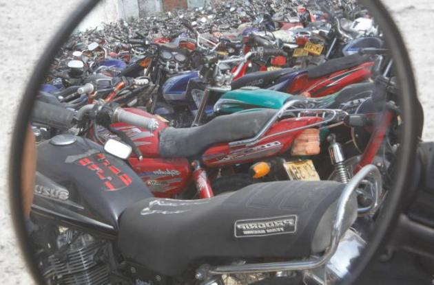 Inmovilización de motos en Cartagena