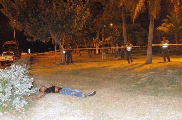 Yefer Eduardo Hernández Herrera, presunto atracador que murió en el parque La Ma