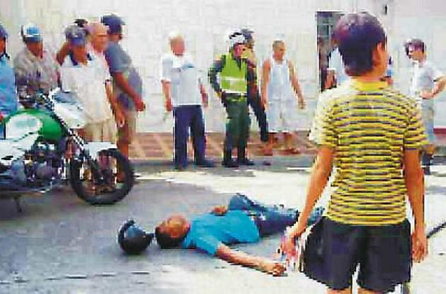 Alejandro García Roa fue asesinado en el barrio Centro, en el municipio de El Es