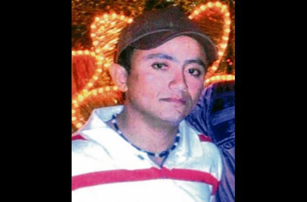 Deimer Antonio Redondo Castro, fallecido en accidente.