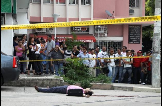 El abogado asesinado tenía 42 años.