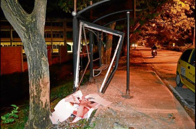 accidente que se registró cerca de la Universidad de Córdoba.