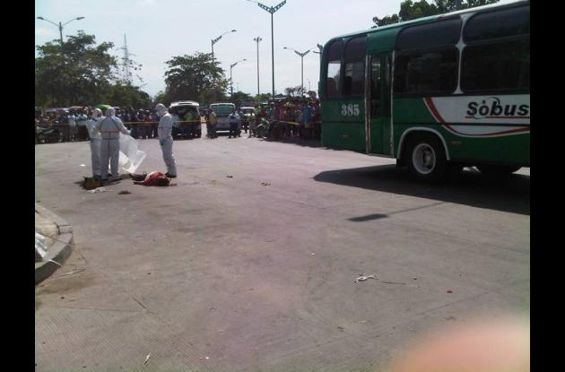 Muerte accidente tránsito Barranquilla