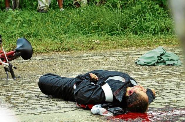 La mujer se movilizaba hasta su trabajo en bicicleta cuando fue asesinada.