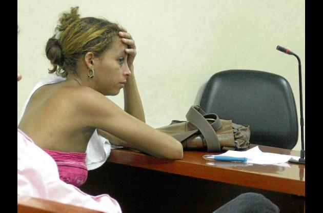 Jessica Isabel Corena Soracá, capturada con droga en la vagina.