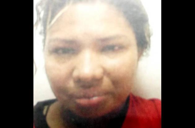 Cindy Mejía Viloria, capturada por extorsión en Montería.