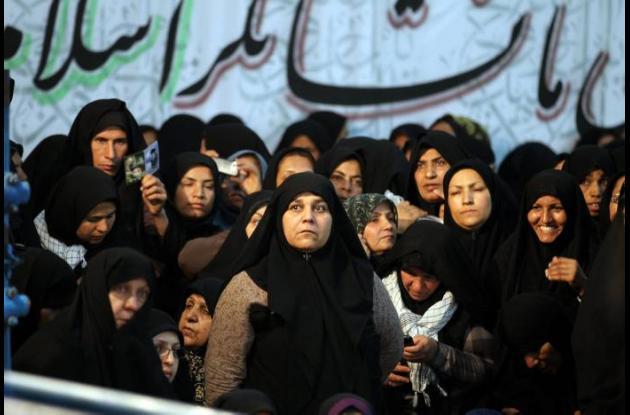 Las mujeres en Irán no pueden mirar partidos