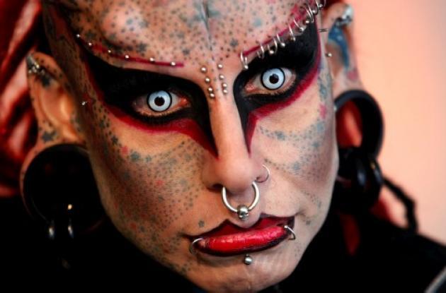 María José Cristerna, la Mujer Vampiro.