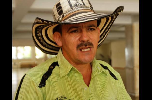 Elkin Rincón Munetón, alcalde de Simití.