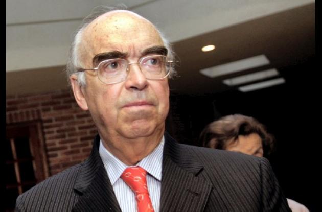 Augusto Ramírez Ocampo, ex canciller de Colombia que murió en Bogotá.