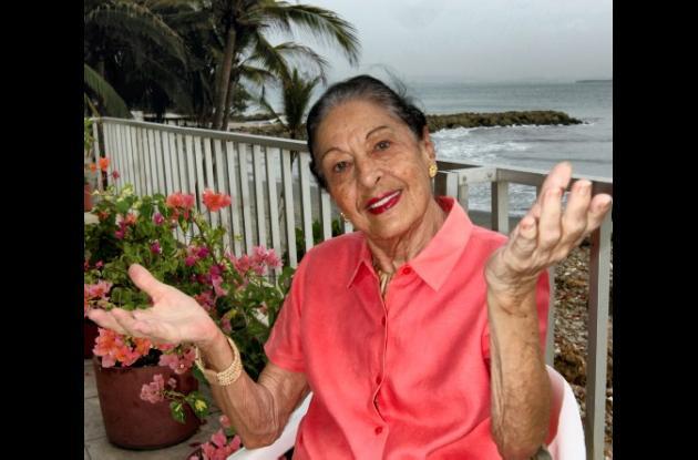 Falleció la folclorista colombiana Sonia Osorio.