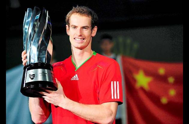 Andy Murray, tenista escocés.
