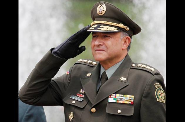 Óscar Naranjo, director de la Policía Nacional