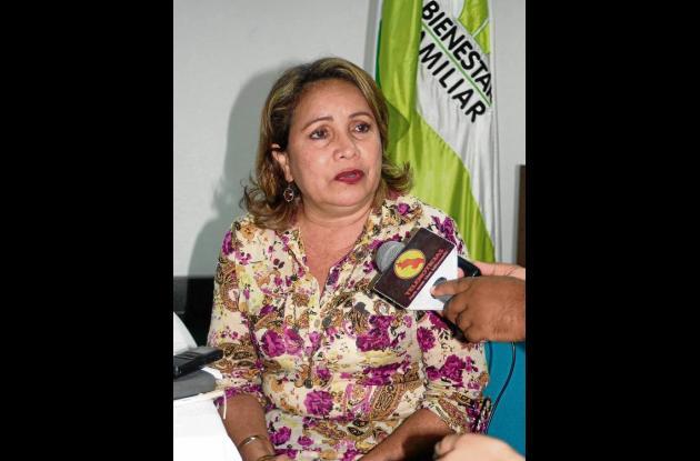 Nasly Díaz Barbosa, Secretaria de adopciones del Icbf
