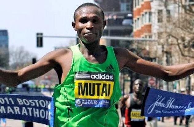 El keniata Geoffrey Mutai.