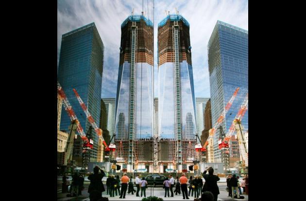 Construcción del One World Trade Center.