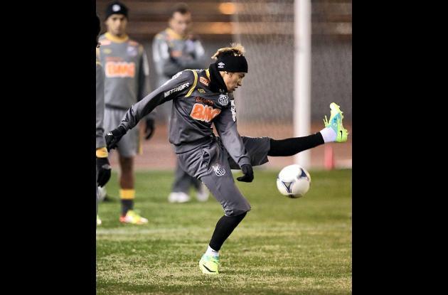 Neymar, estrella de Santos