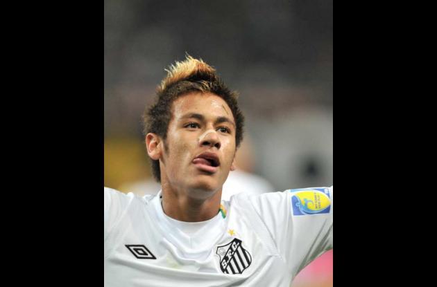 Neymar, jugador de fútbol brasilero.