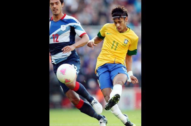 Neymar, figura de Brasil.