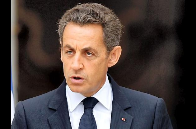 Nicolas Sarkozy, presidente de Francia.