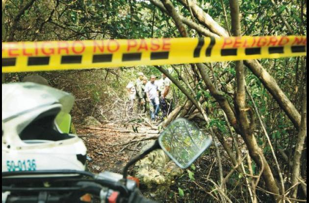 """El cuerpo sin vida de """"la Calva"""" fue hallado flotando en la Laguna de Chambacú."""