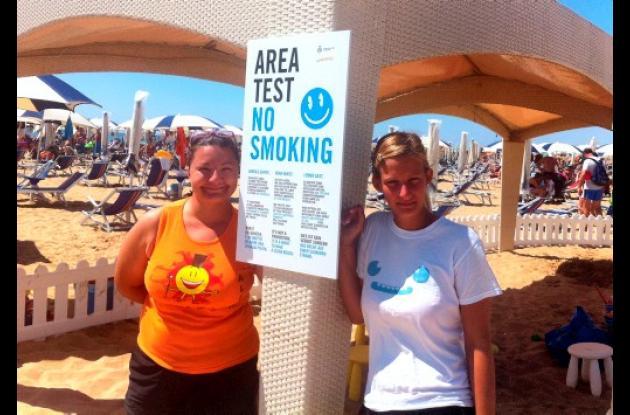 Unas 500.000 colillas de cigarrillos son lanzadas al Mediterráneo cada día.