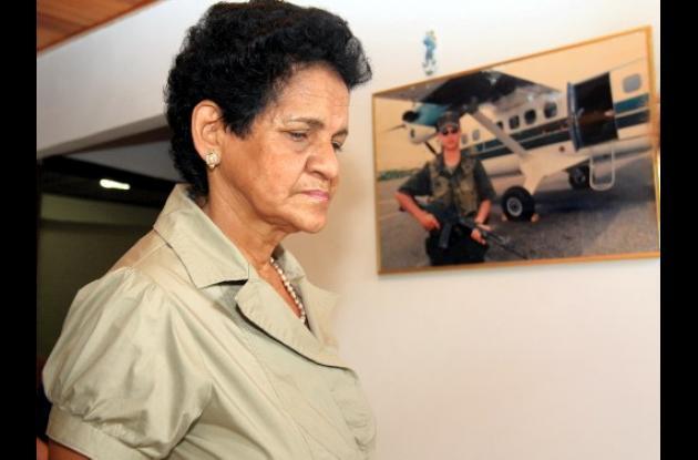 Mamá del Capitán Guillermo Solórzano.