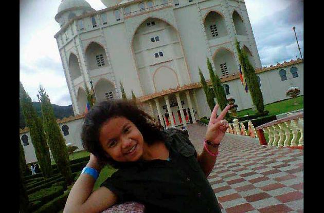 Nohora Valentina Muñoz Gutiérrez, hija del alcalde del municipio de Fortul, Arau