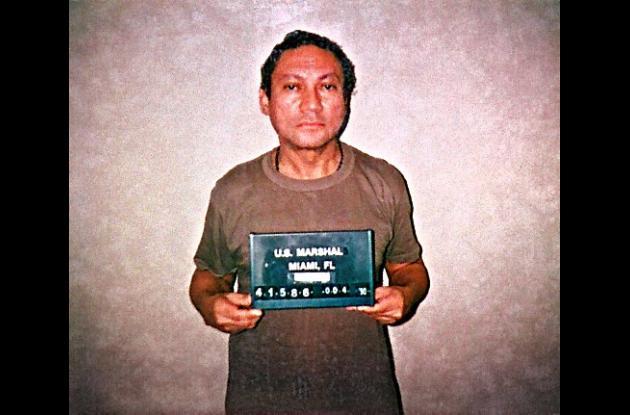 Manuel Antonio Noriega, en libertad condicional.