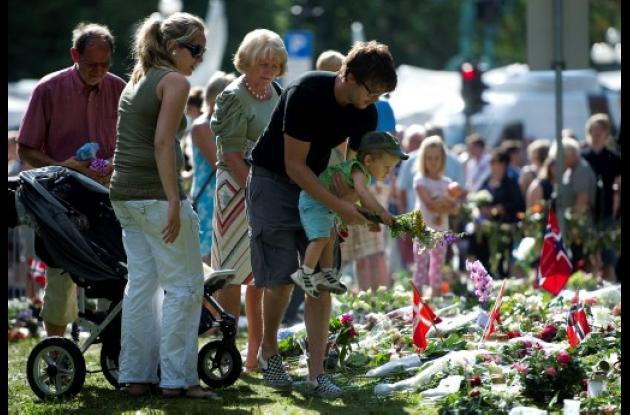 Noruega aún llora por las víctimas de la masacre del pasado 22 de julio.