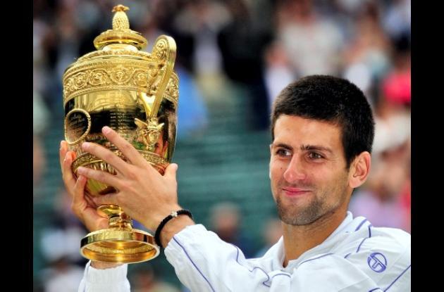 Novak Djokovic, campeón en Wimbledon