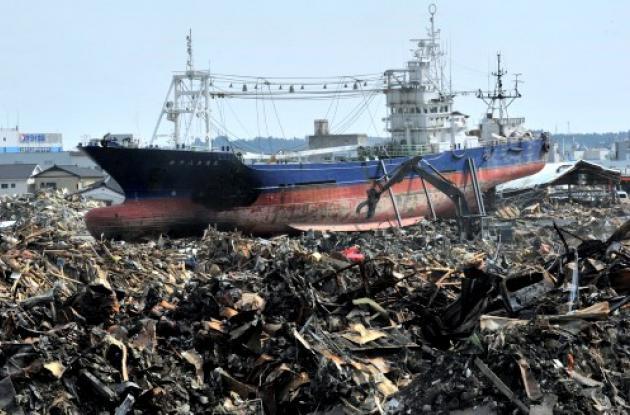 Japón aún no termina de recoger los muertos del sismo y tsunami del pasado 11 de