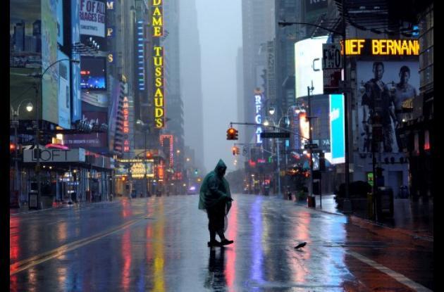 Irene paralizó a Nueva York.