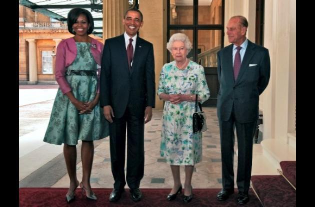 Obama en Londres